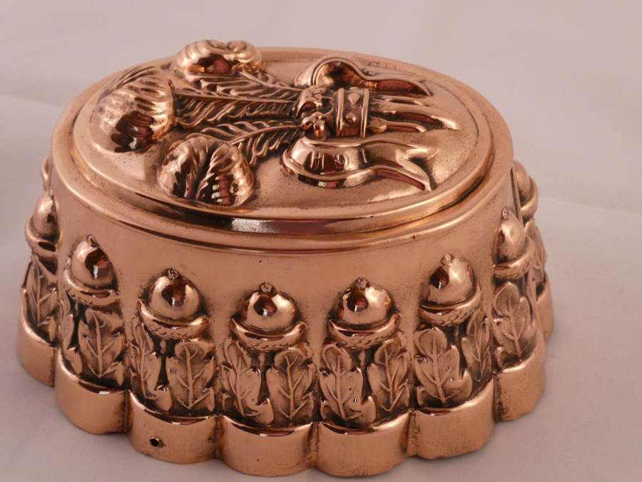 19th century copper mould