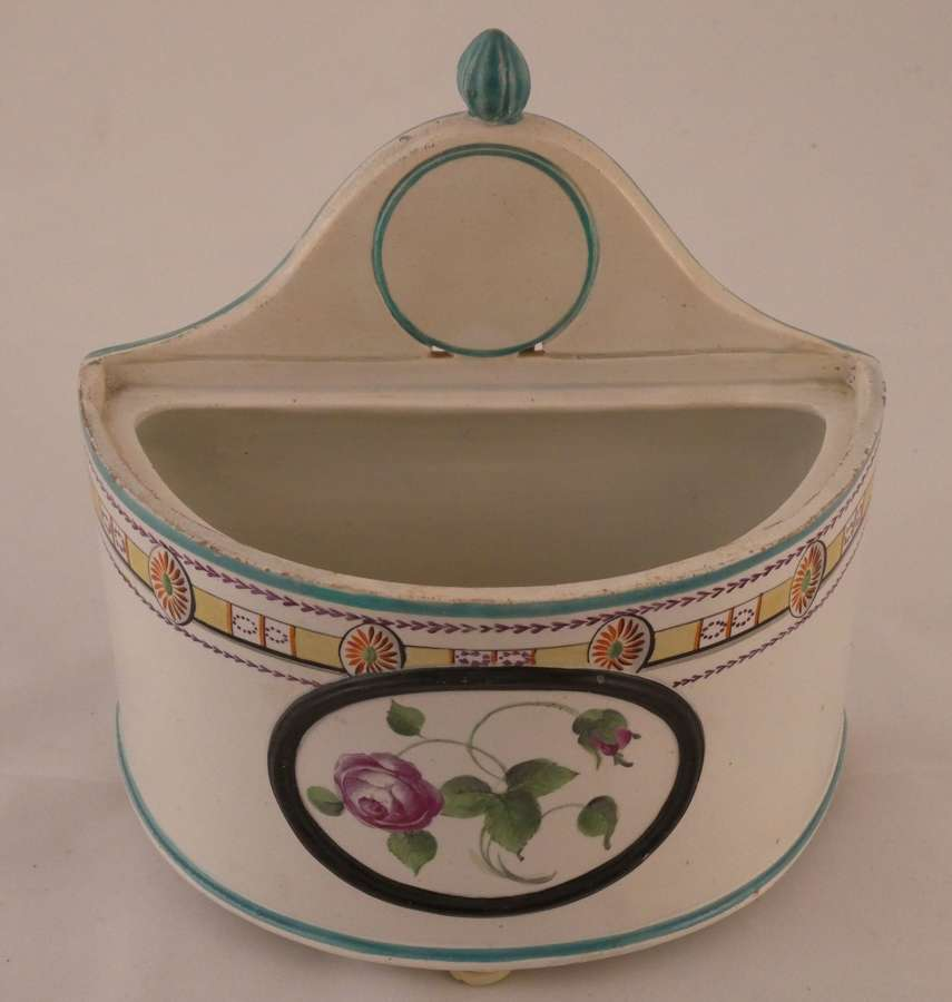 Pearlware Rouge Pot