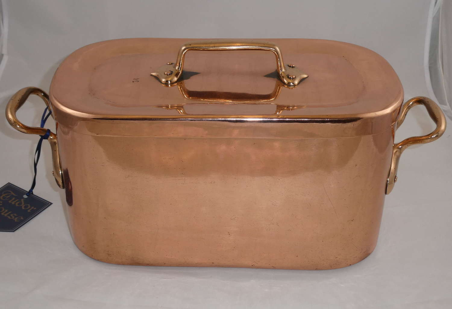 19th Century Copper Daubiere