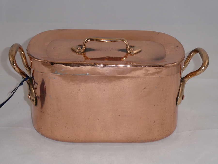 19th Century Copper Daubiere