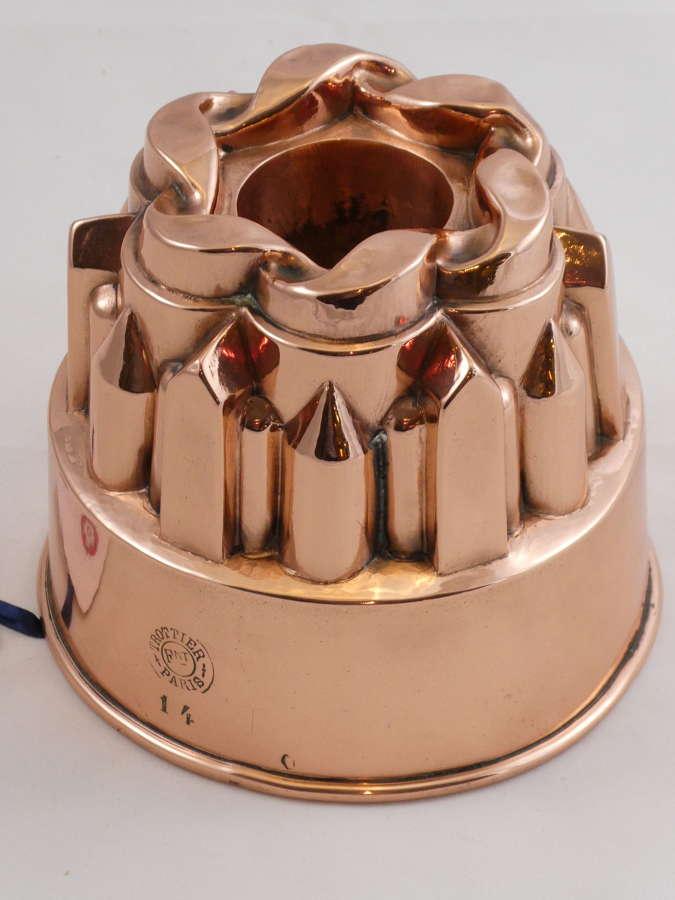 19th century Copper Mould