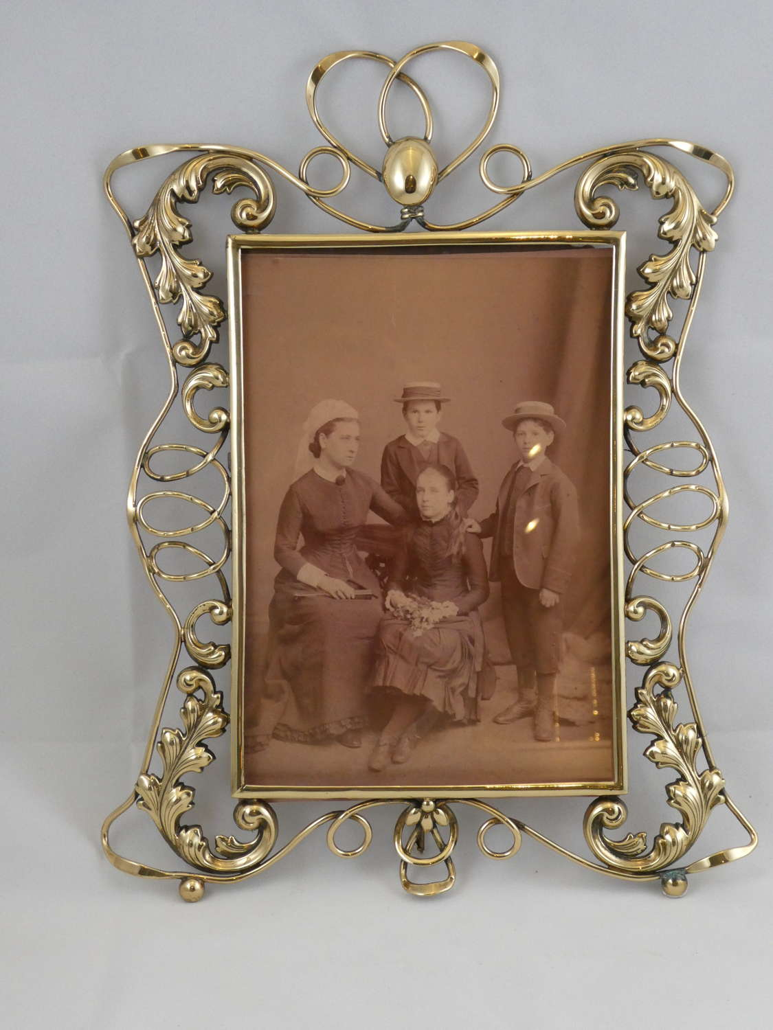 Large Brass Photo Frame