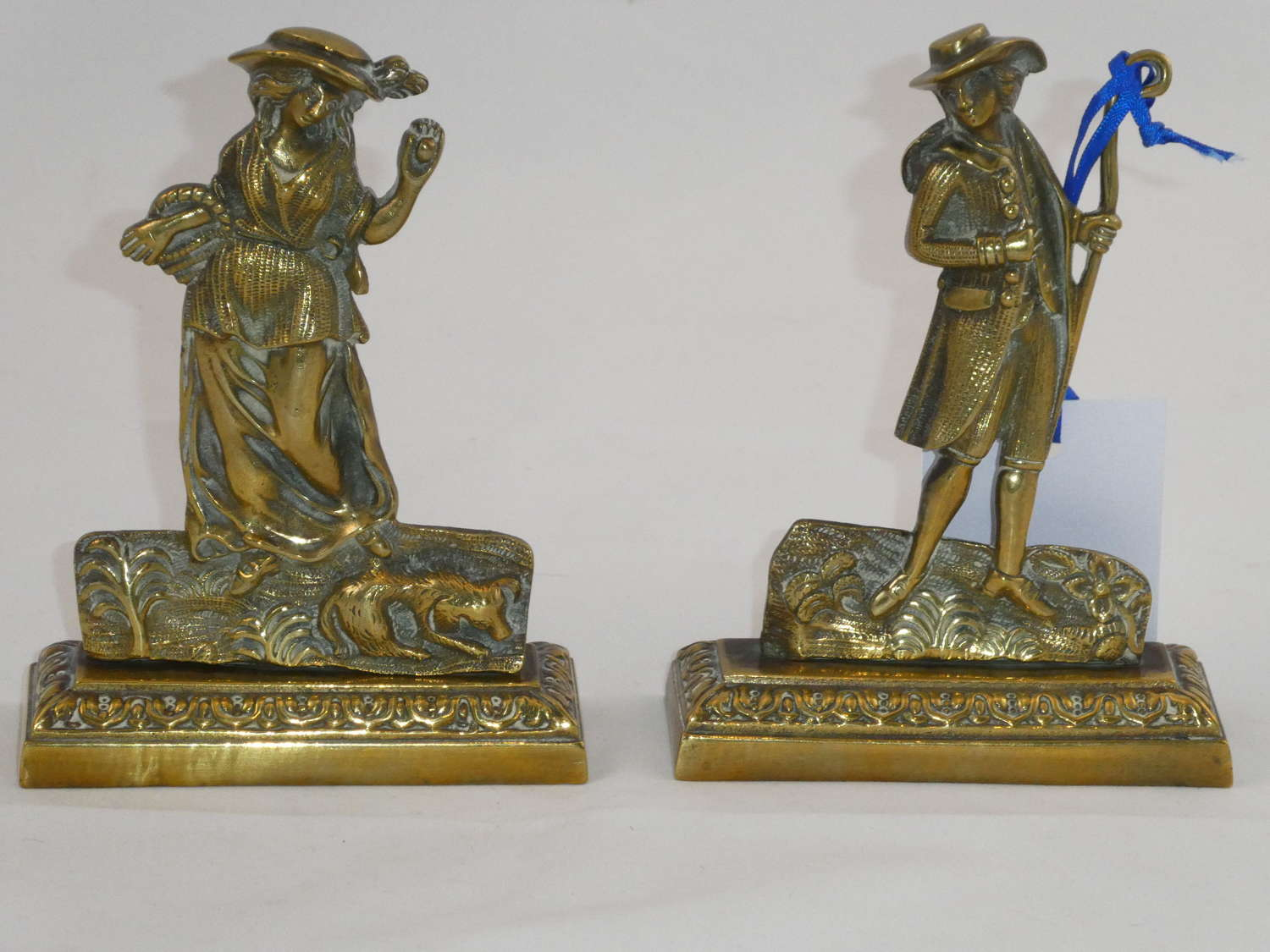 Pair of Victorian Hearth Ornaments