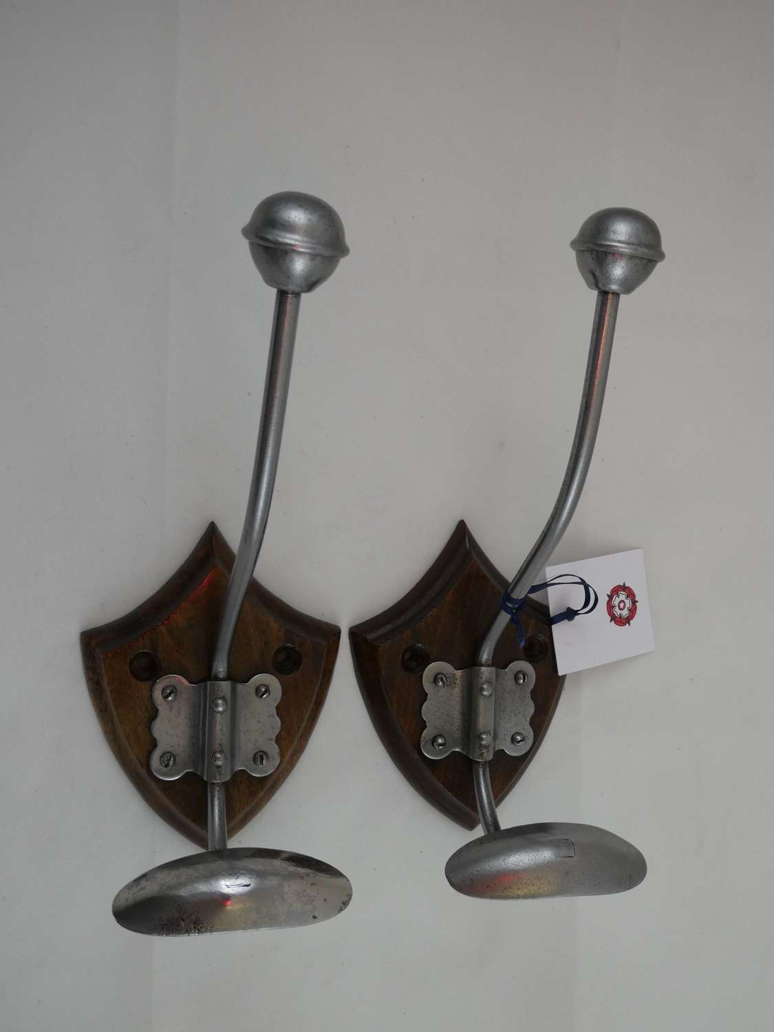 Pair of Coat Hooks