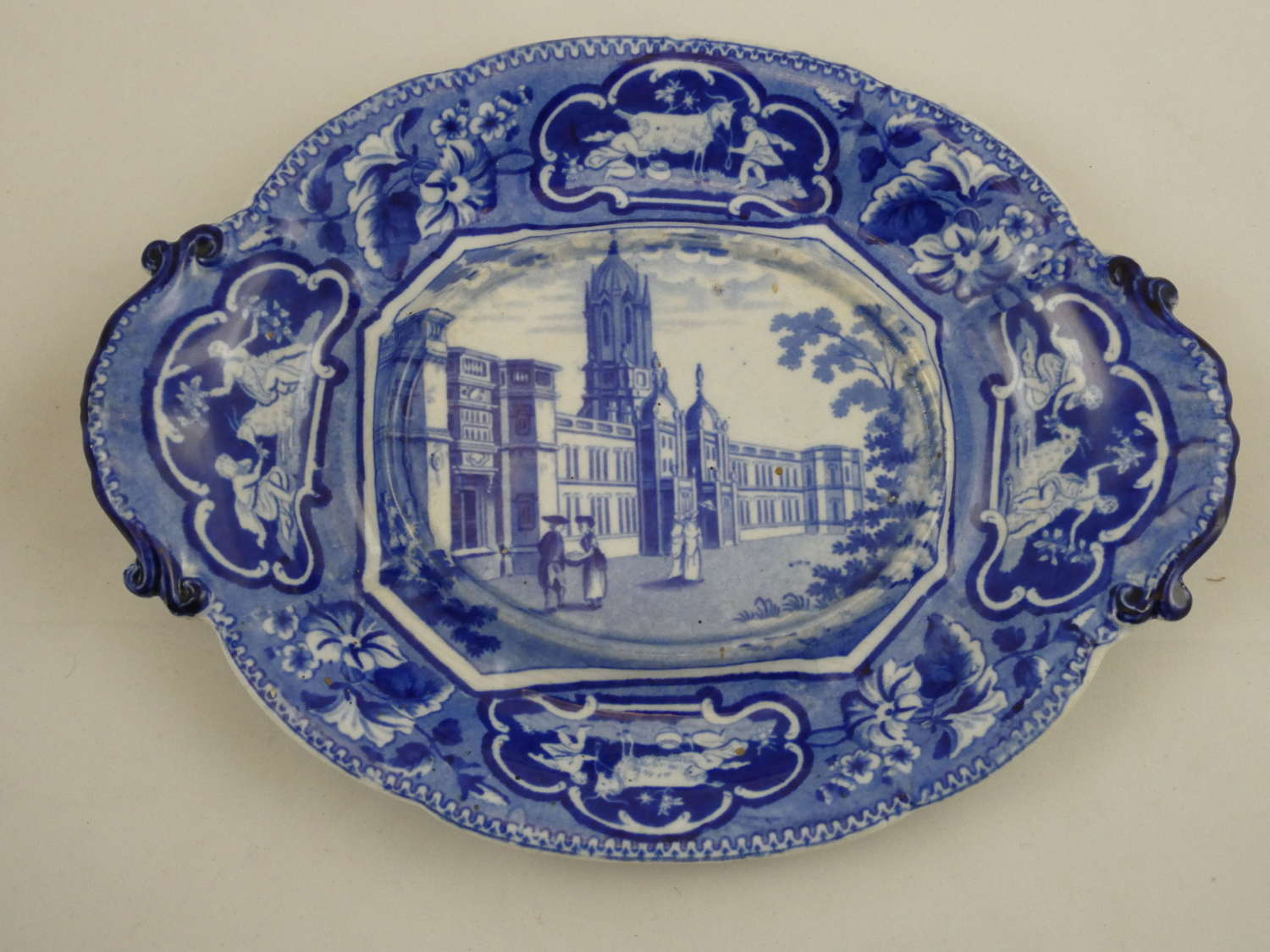 Blue and White Teapot Stand