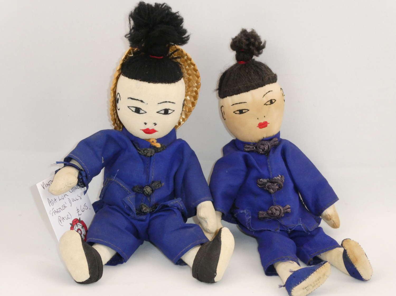 Pair of Chinese Dolls