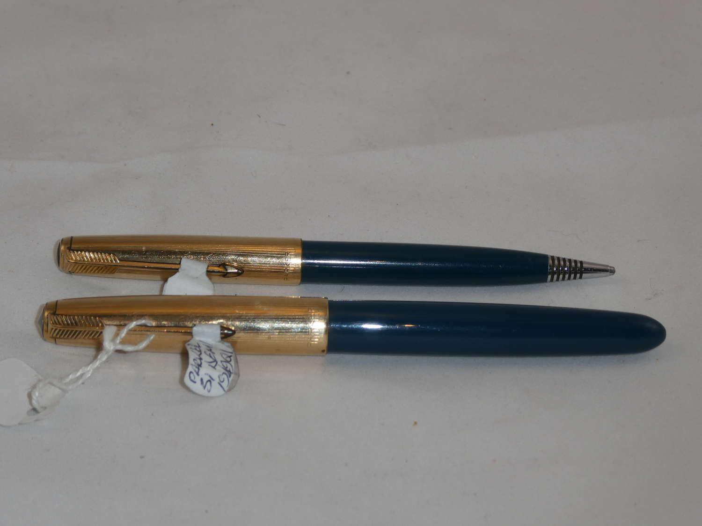 Parker 51 Demi 1949 Pen and Pencil Set