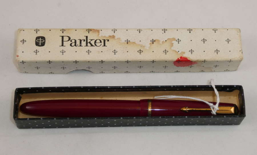 Parker Duofold, Red, 1954