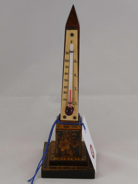Tunbridgeware Thermometer