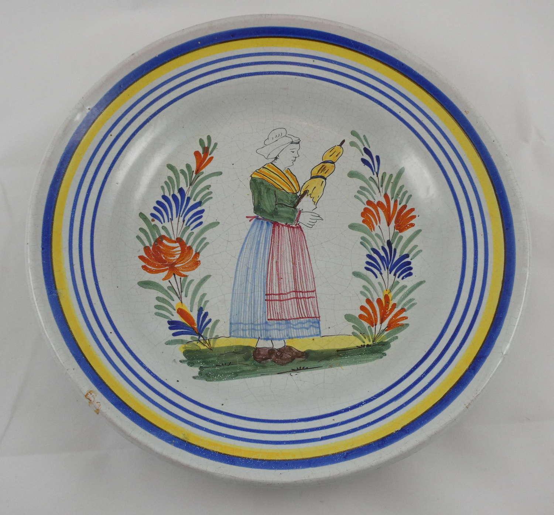 Tin Glazed Plate