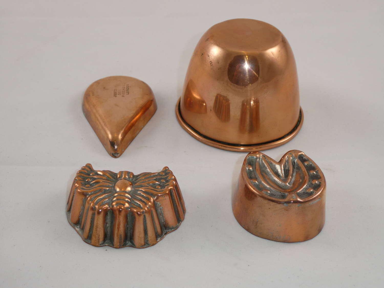 Miniature Copper Moulds