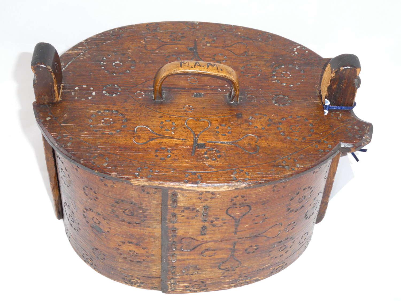Norwegian Bentwood Box