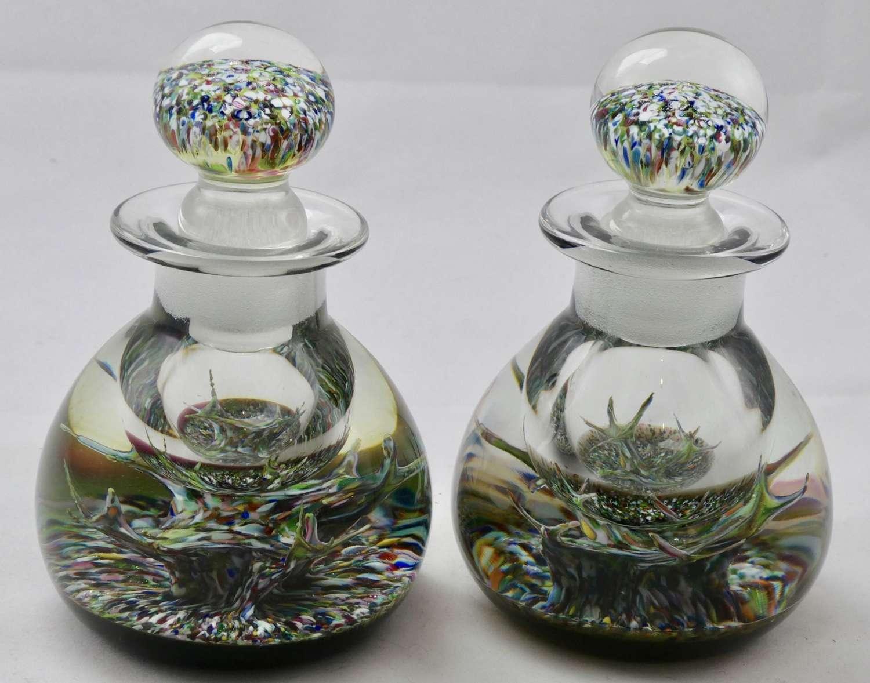 Pair of Selkirk Bottles