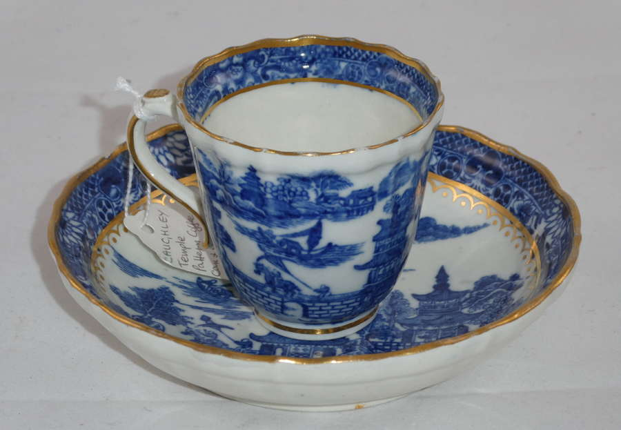Caughley Cup Saucer