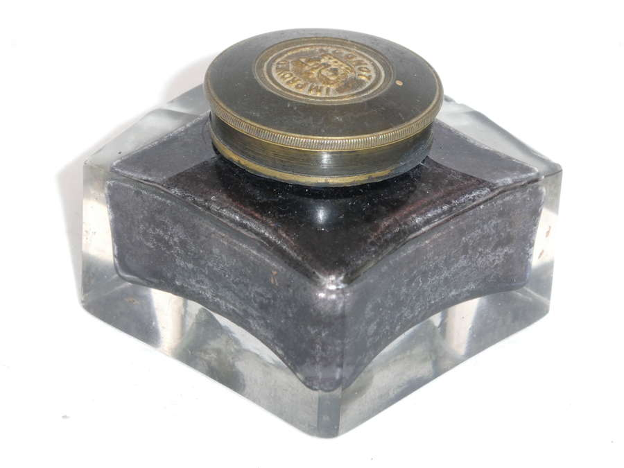 Victorian Inkwell