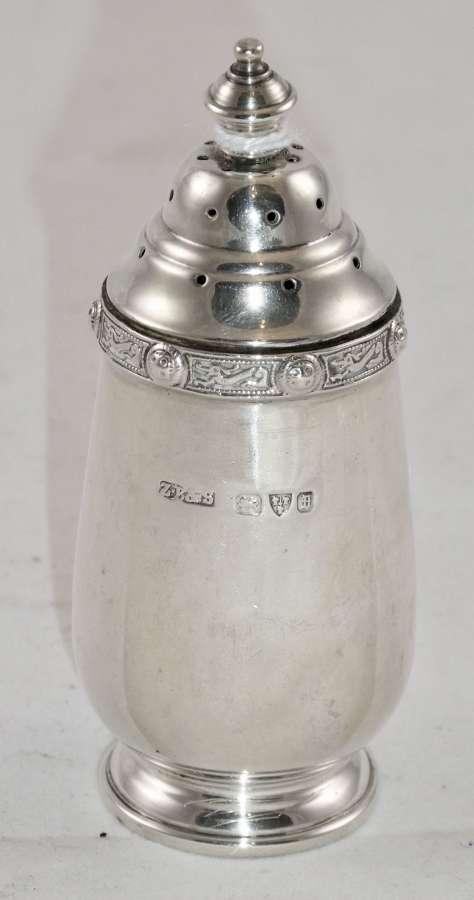 Silver Pepper Pot
