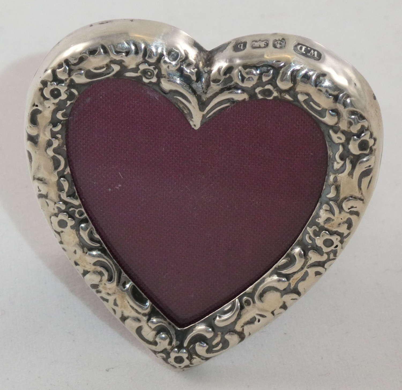 Miniature Silver Frame