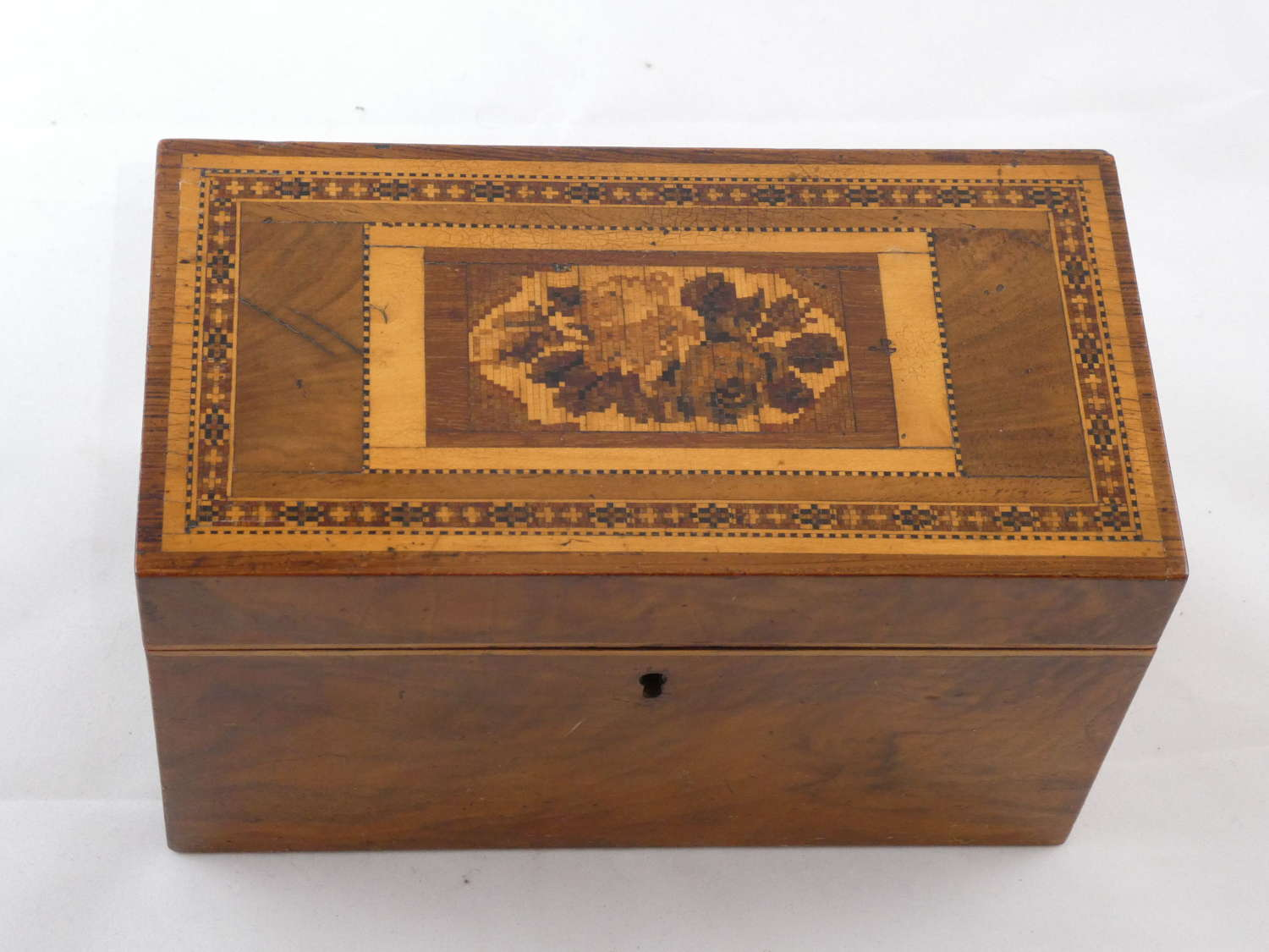 Tunbridge Tea Caddy