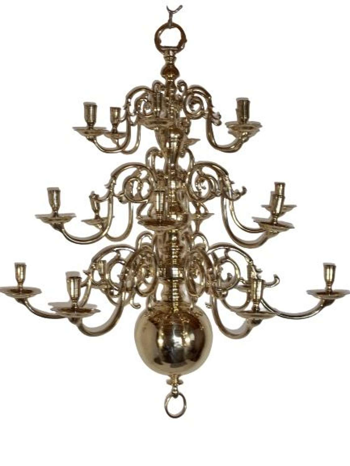 Large 18-branch Chandelier