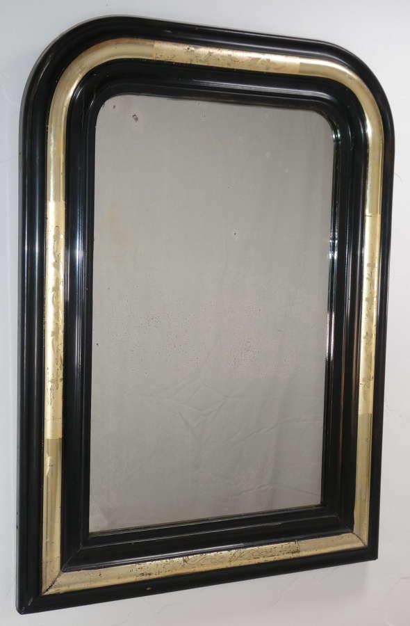 Ebonised Mirror
