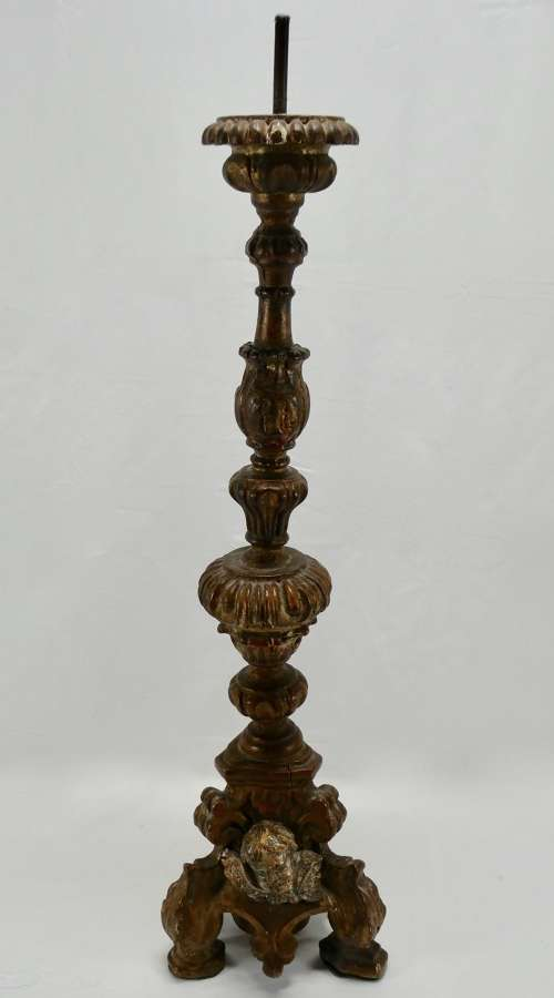 Giltwood Pricket Stick