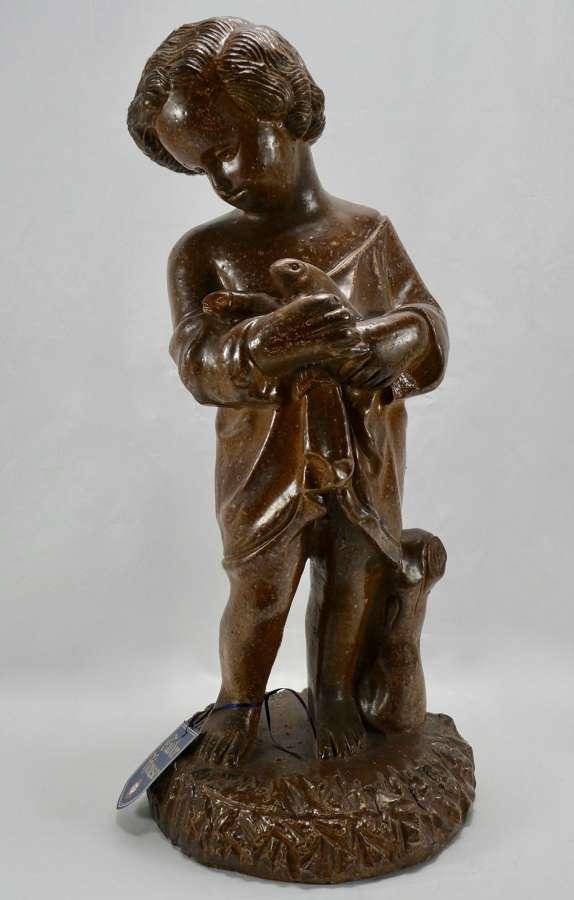 Stoneware Garden Figure