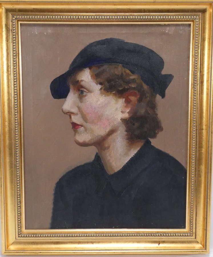 Oil Portrait on Canvas