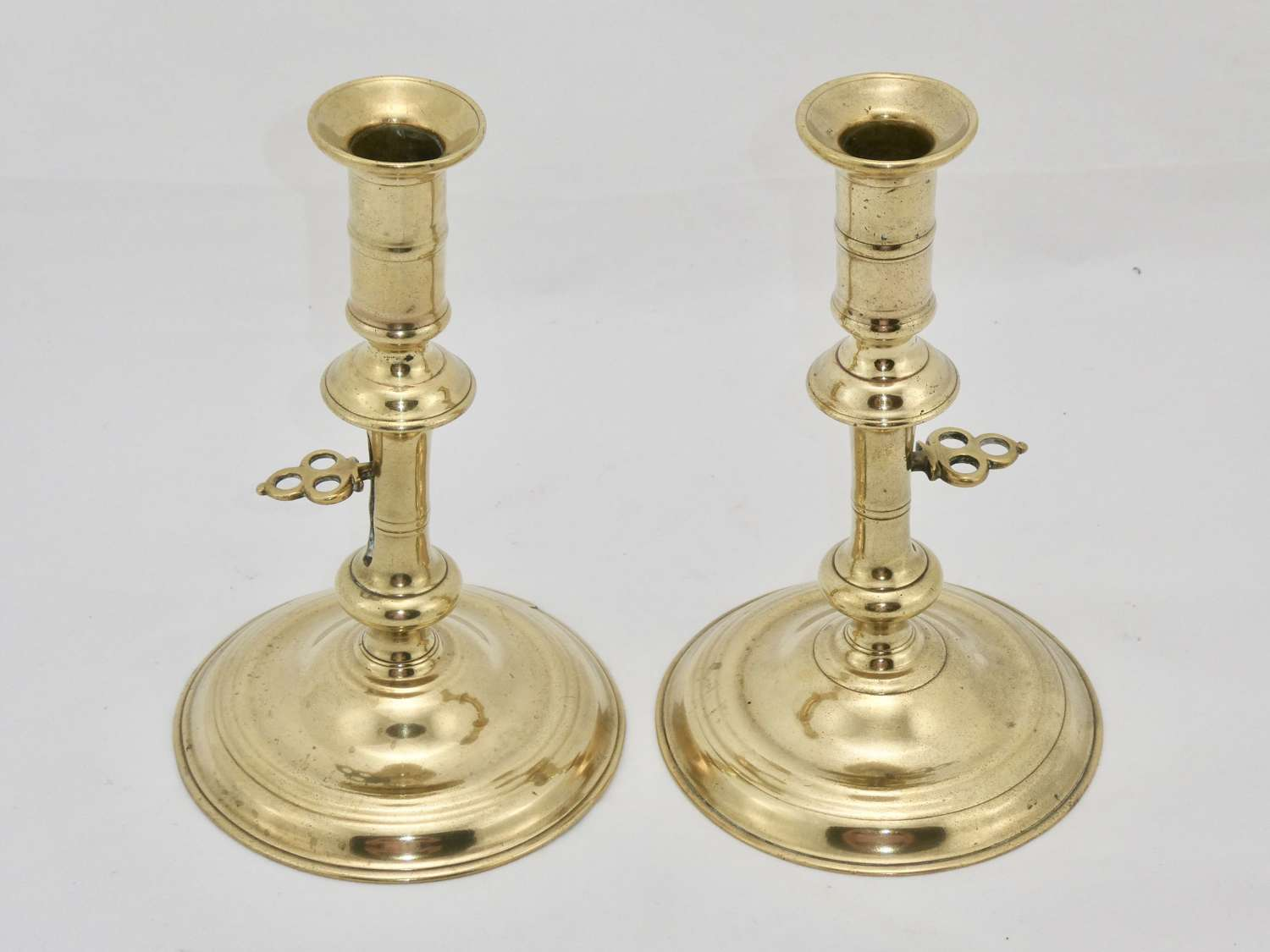 Pair of 18th Century Candlesticks