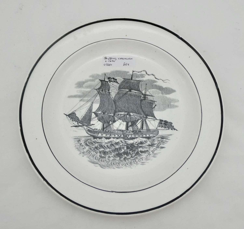 Creamware Plate