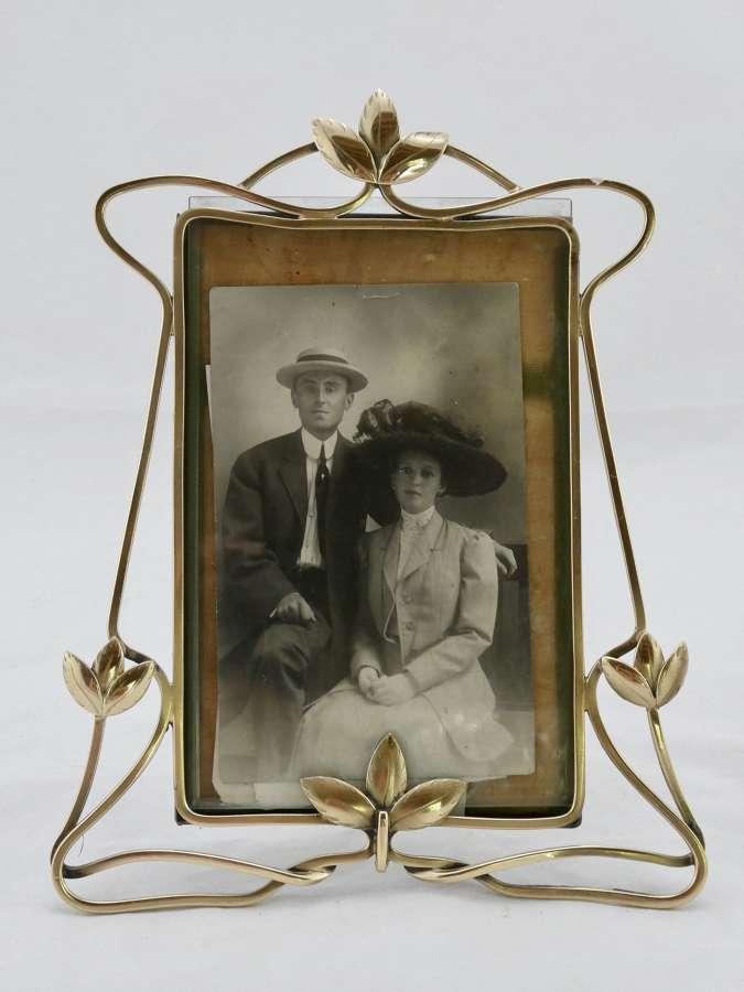 Brass Photograph Frame