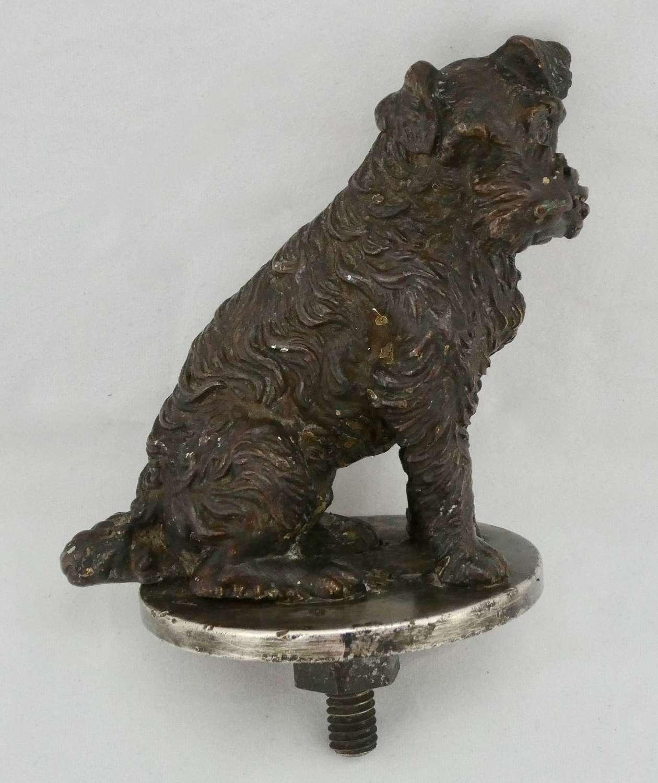 Bronze Car Mascot