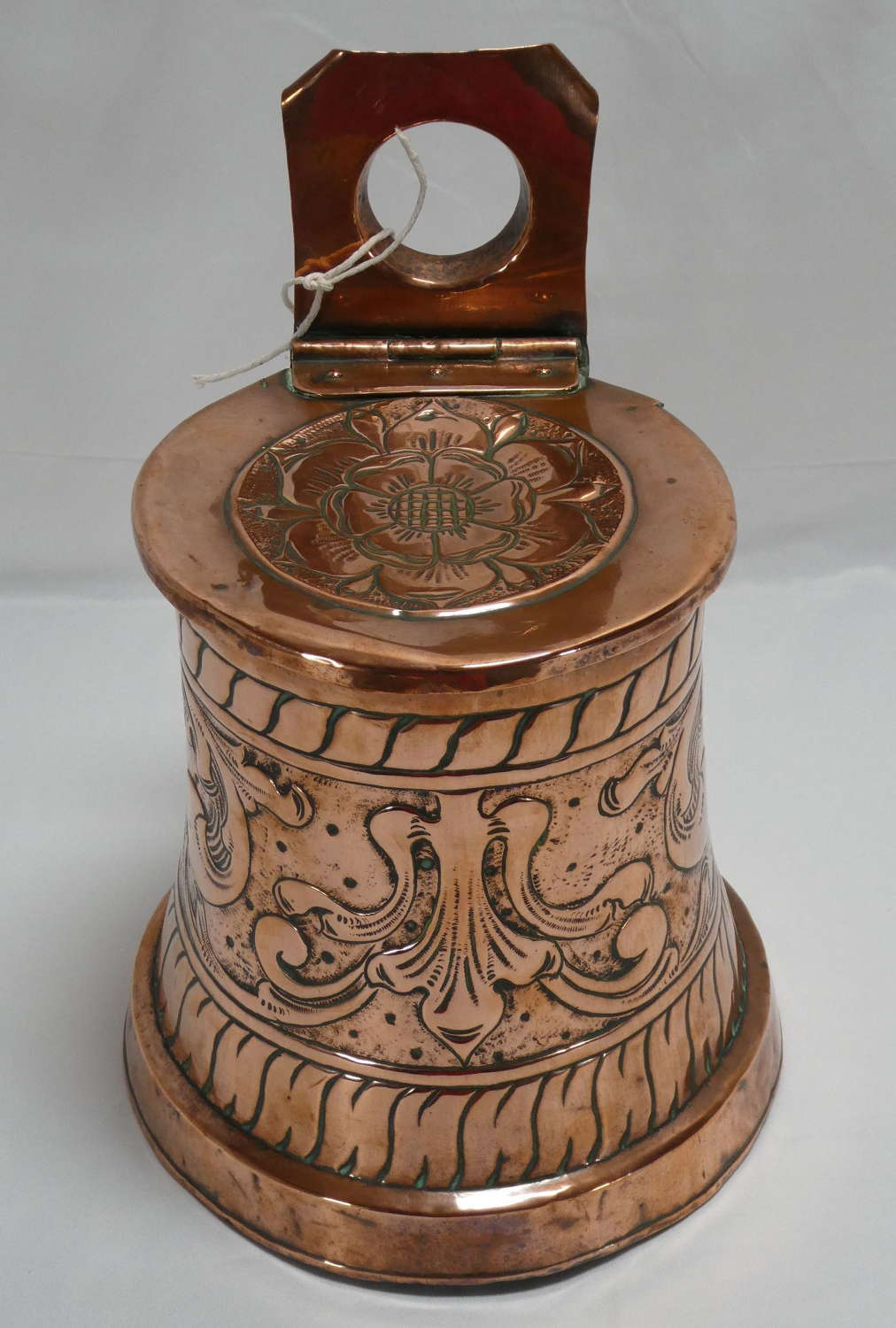 Copper Wall Hanging Container