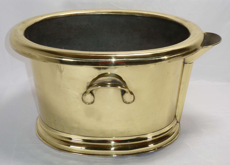 Brass Footbath
