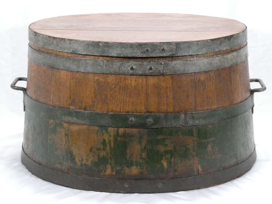Coopered Barrel