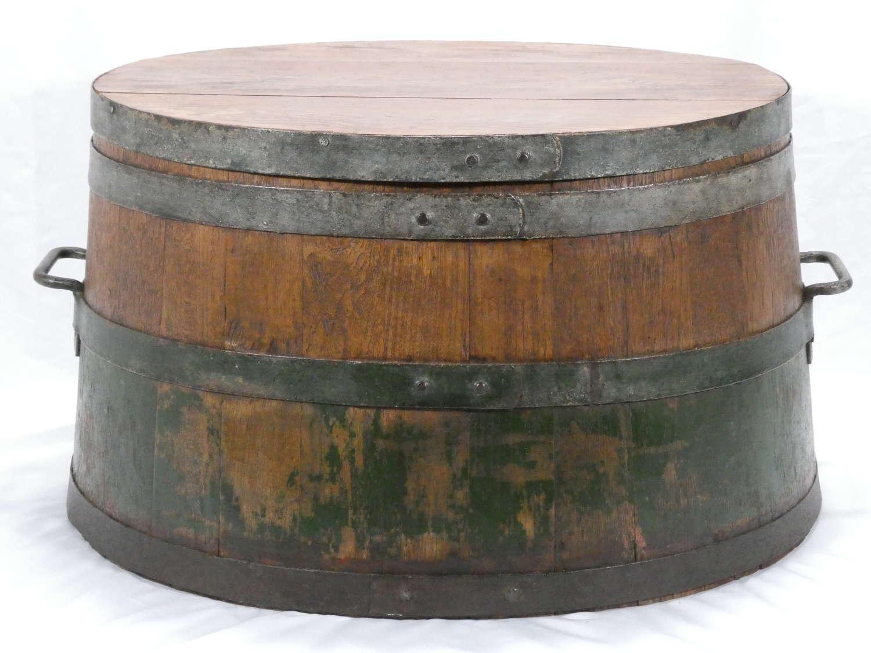 Coopered Barrel