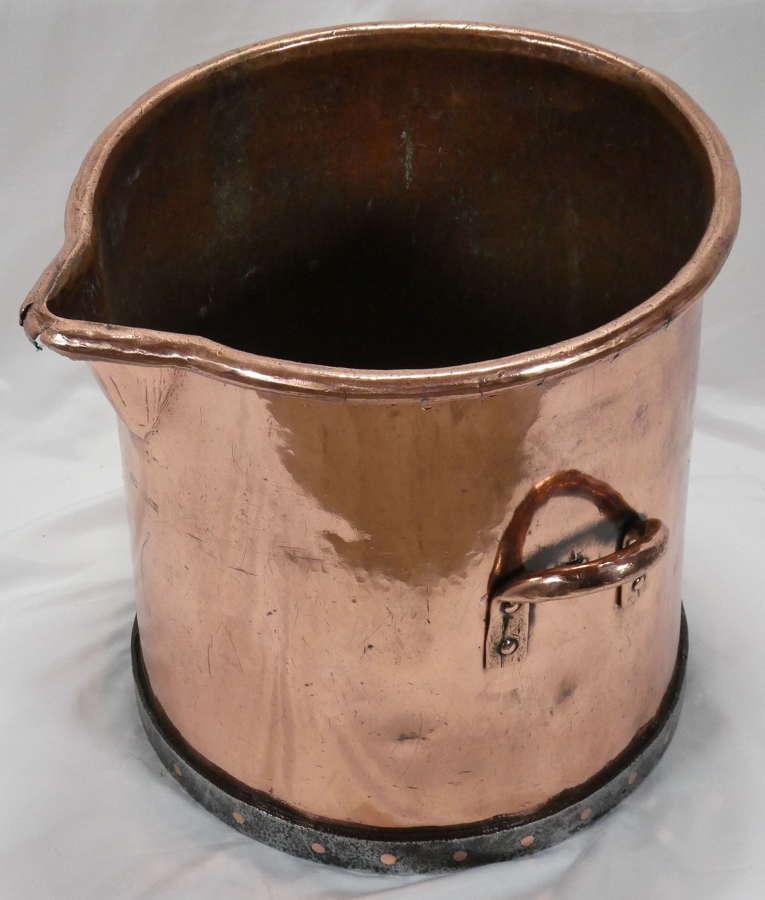 Large Copper Vat