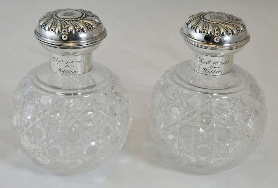 Pair of Scent Bottles