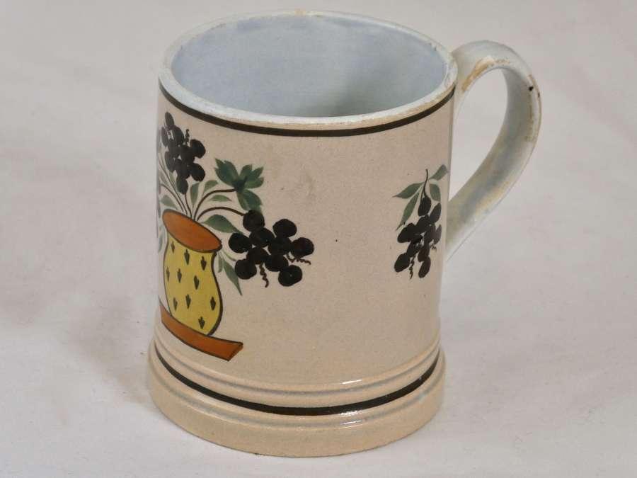 Early 19th Century Pearlware Mug