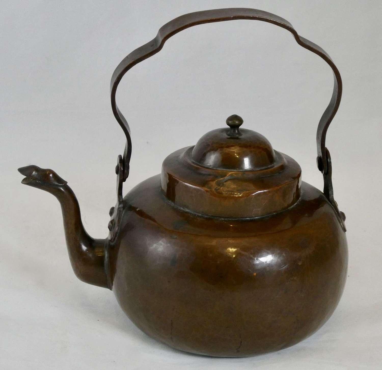19th Century Copper Kettle