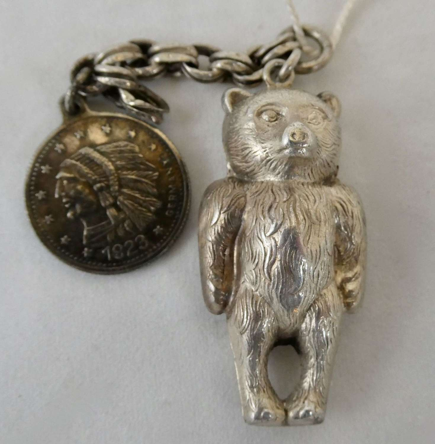 Child's Silver Rattle