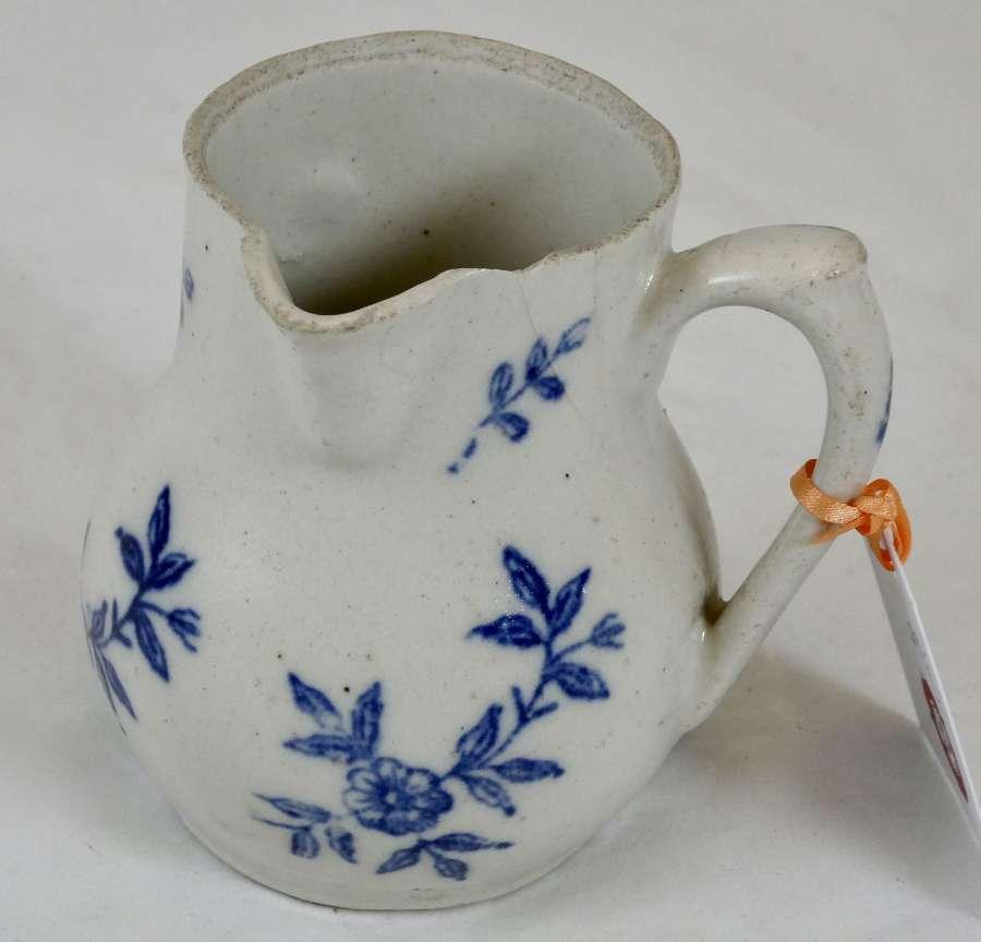French salt glaze jug