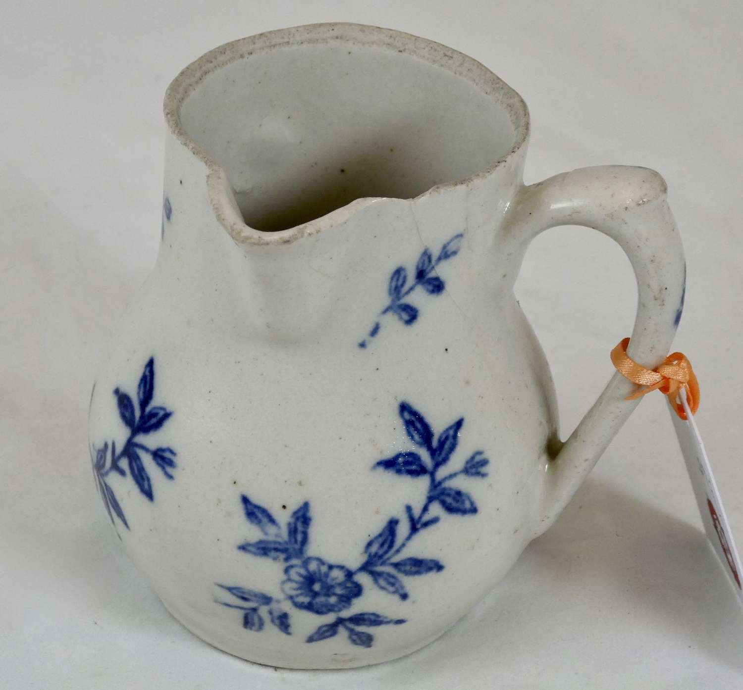 French salt glaze jug