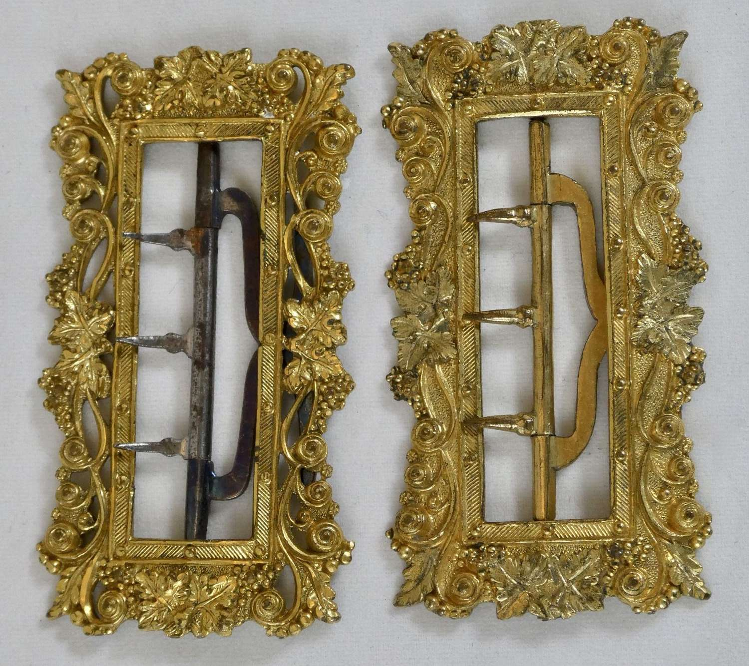Pair of Gilt Buckles
