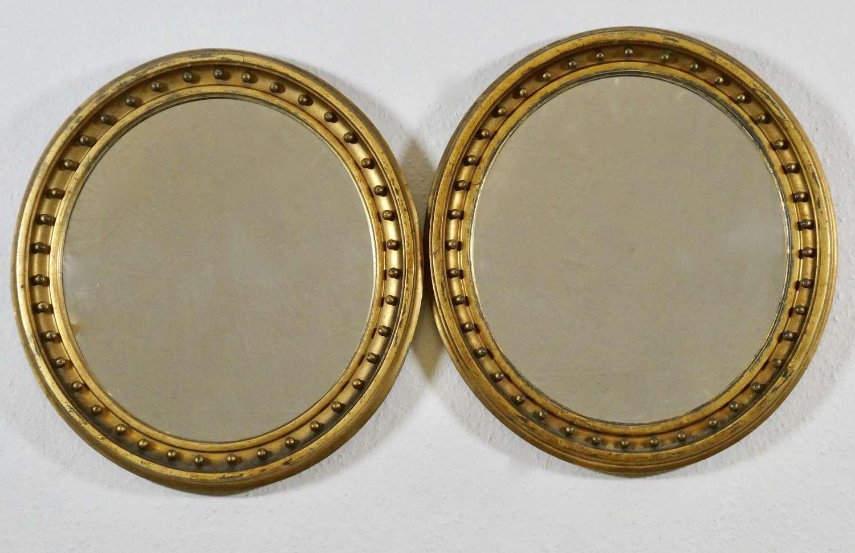 Pair of 19th Century Mirrors