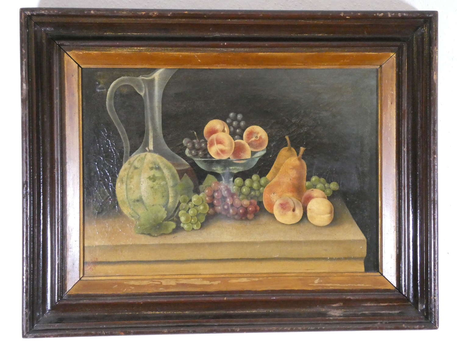 Still Life Oil on Canvas