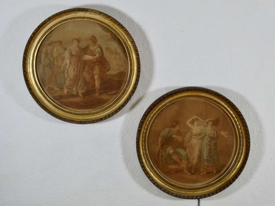 Pair of Bartolozzi Engravings