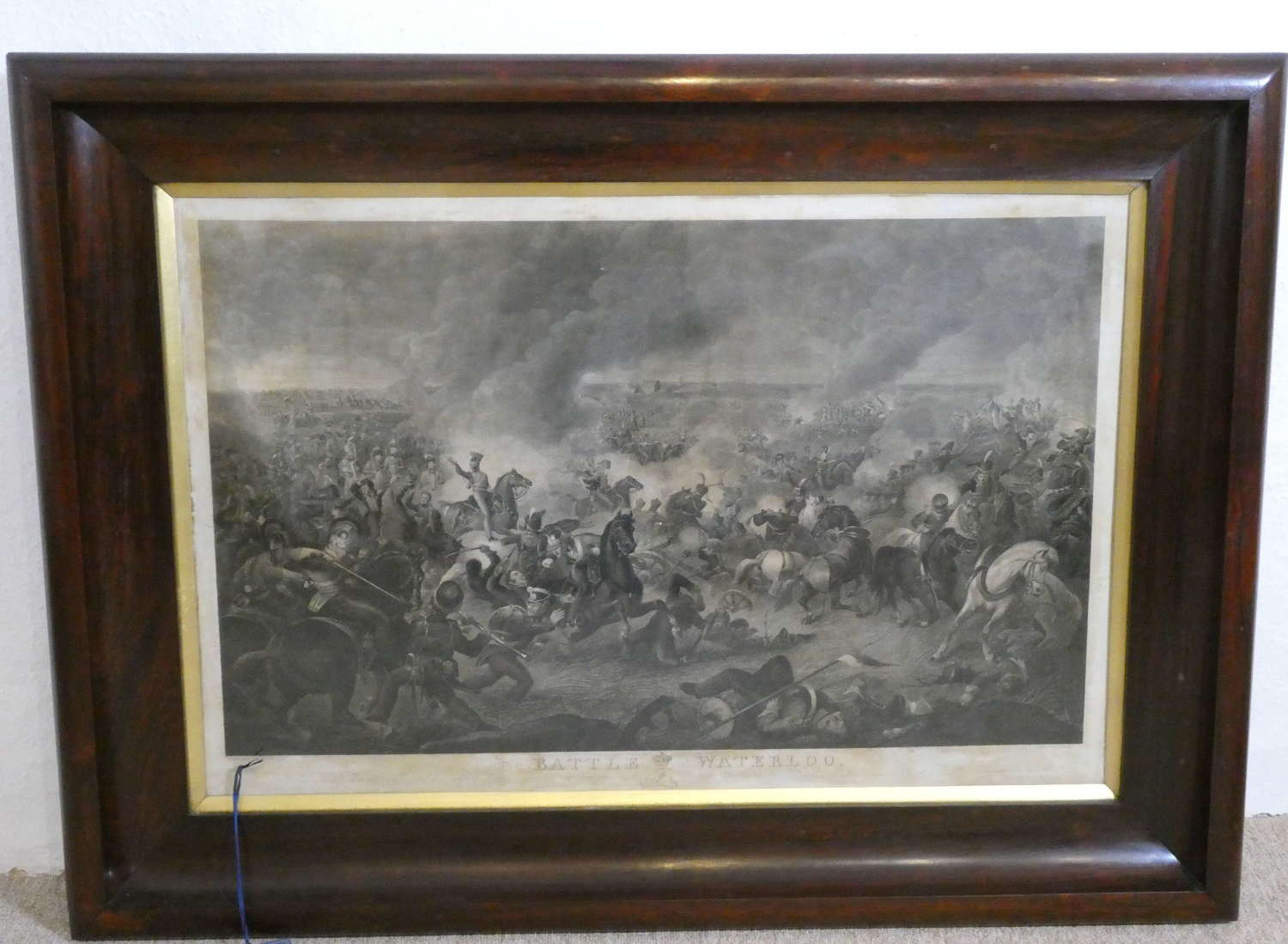 Pair of Engravings of the Battle of Waterloo