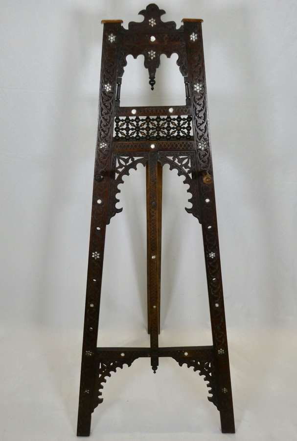 Moorish Easel Inlaid with Mother-of-Pearl
