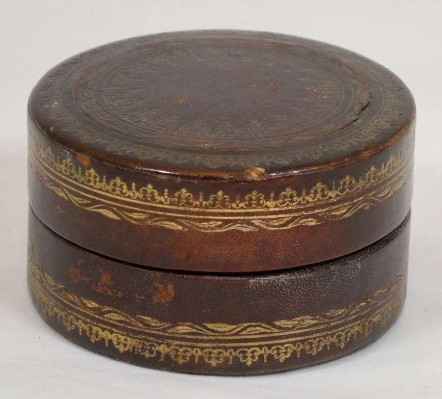 Leather Stud Box