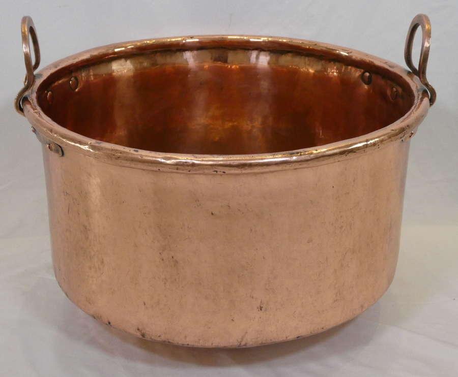 Large Copper Pot, circa 1900